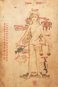 Знаки на теле человека