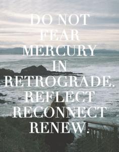 О ретроградности Меркурия